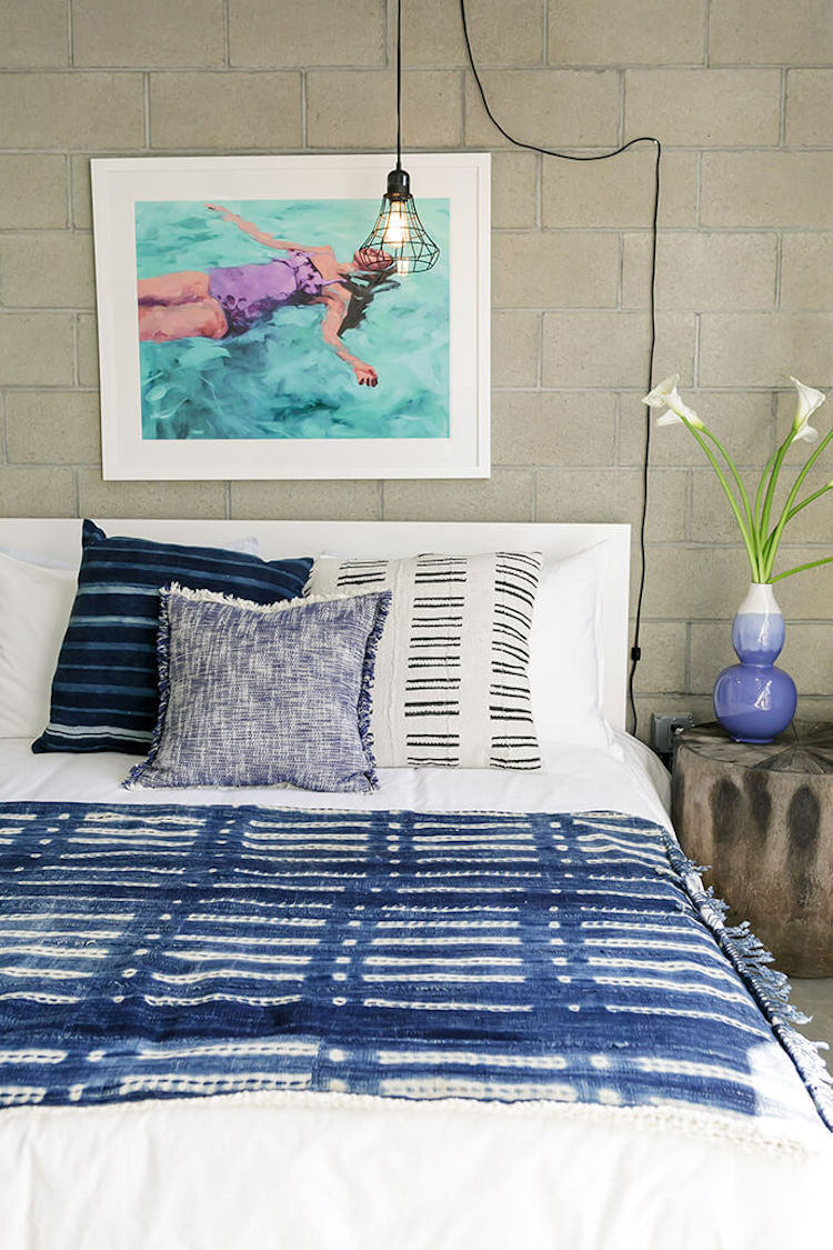 Guest bedroom in Create Cultivate Office space