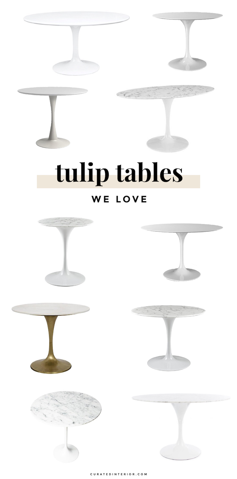Tulip Tables