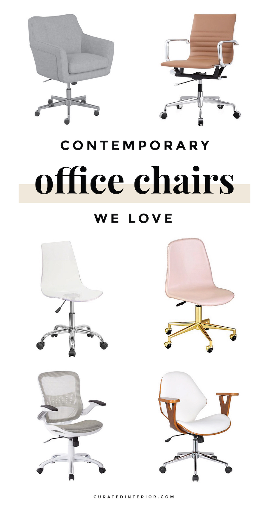 Contemporary Office Chairs for your Home Office Desk