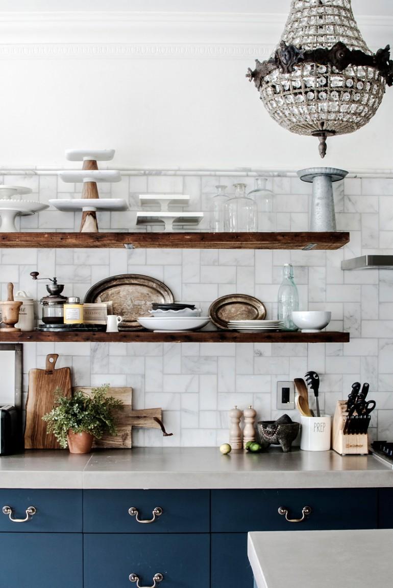 Glamorous Kitchen Design Minimal Cabinets