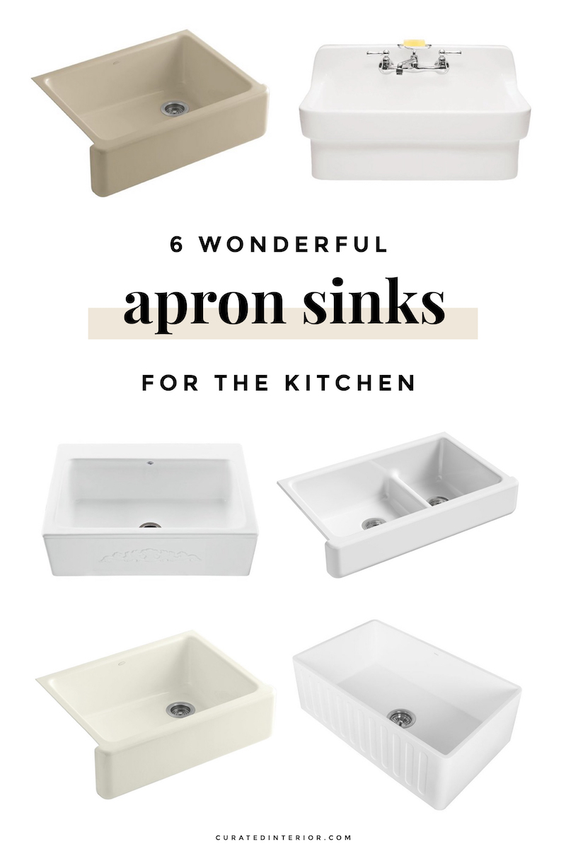 Picture of: 6 Lovely Farmhouse Sinks Apron Front Sinks For The Kitchen