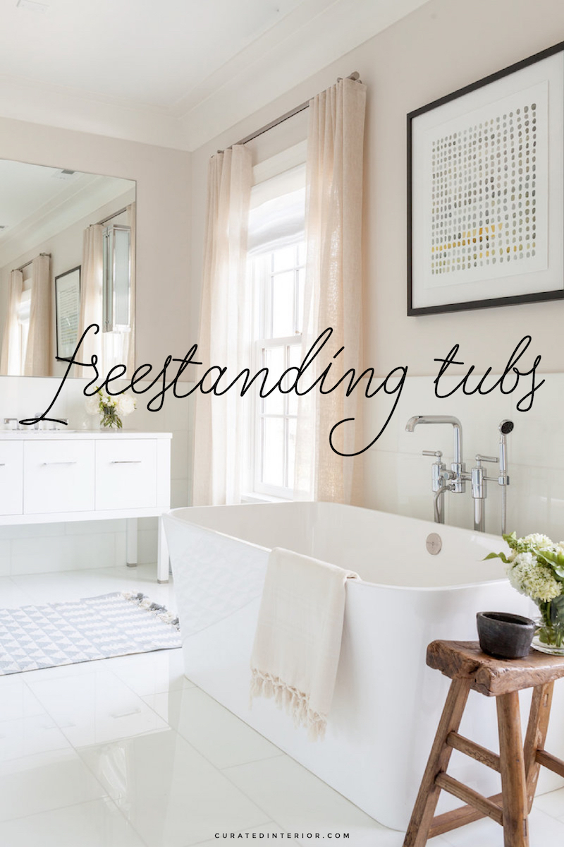 Freestanding Tubs, Bathtubs, Tubs in the Bathroom