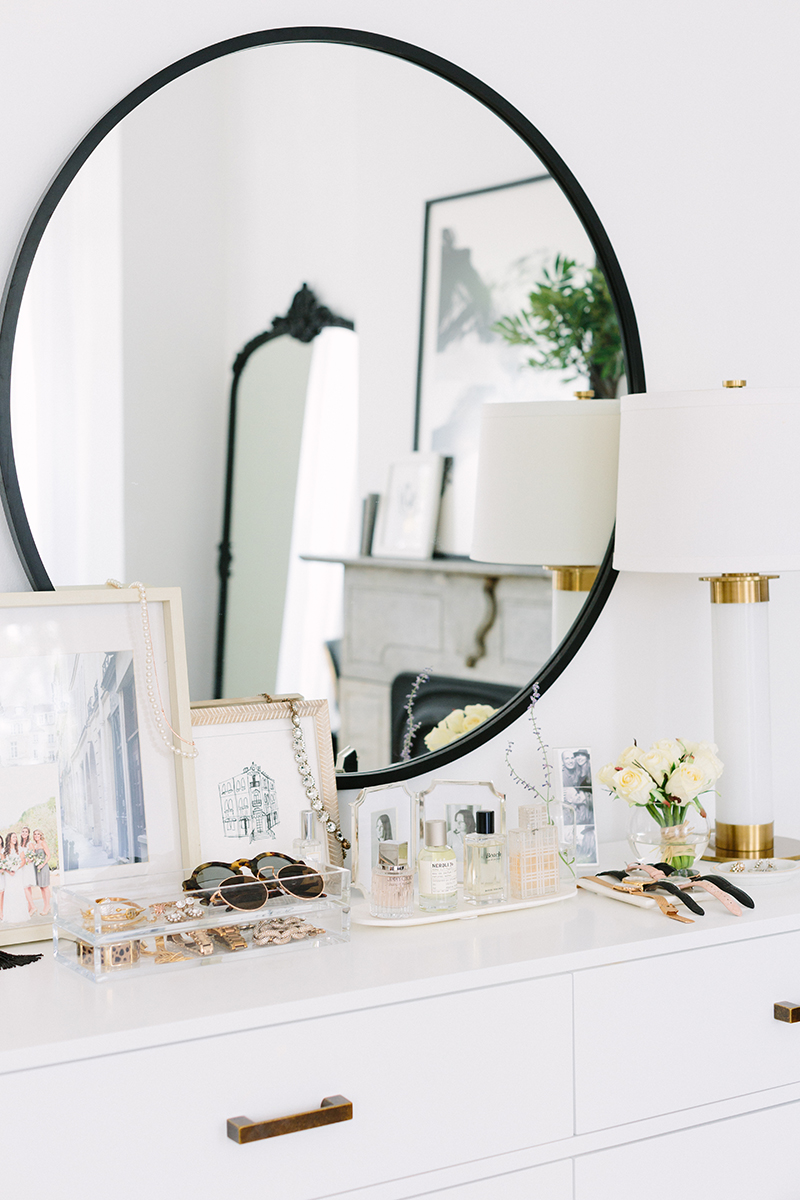 French-Inspired Bedroom Dresser Styling