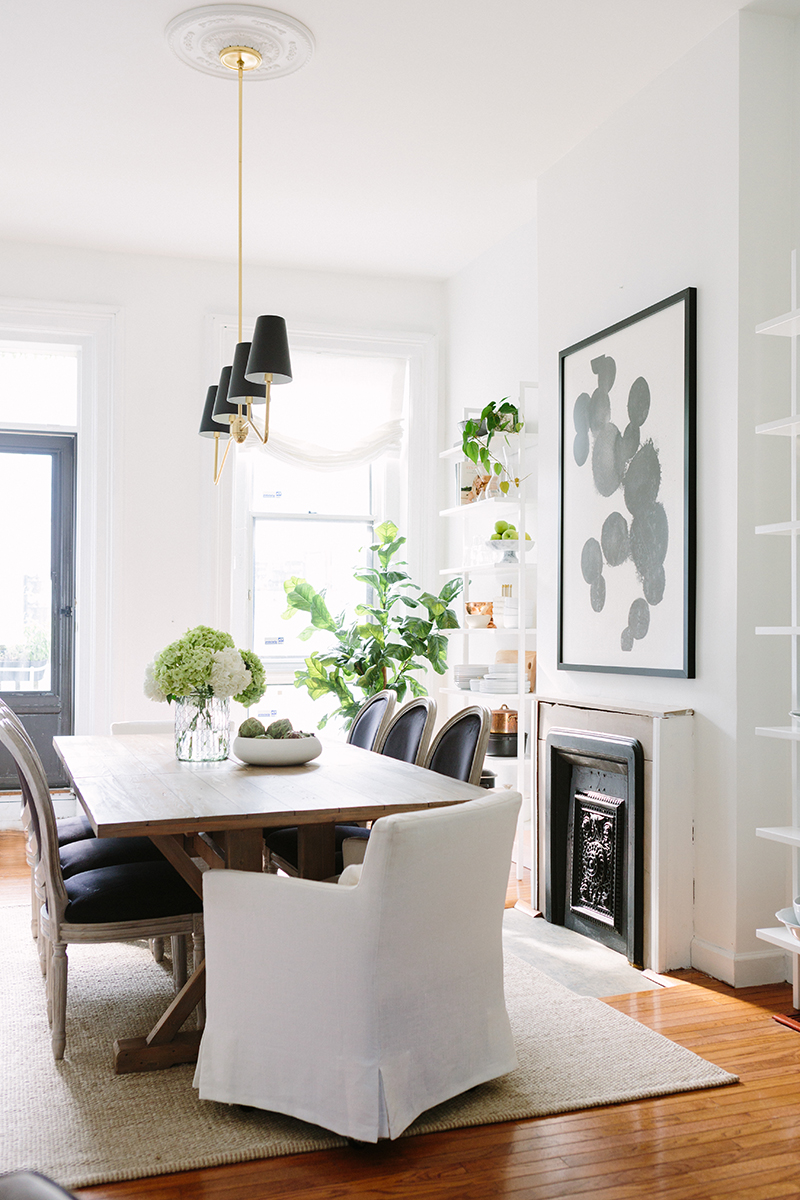 French-Inspired Dining Room