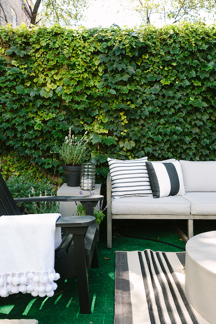 French-Inspired Outdoor Space