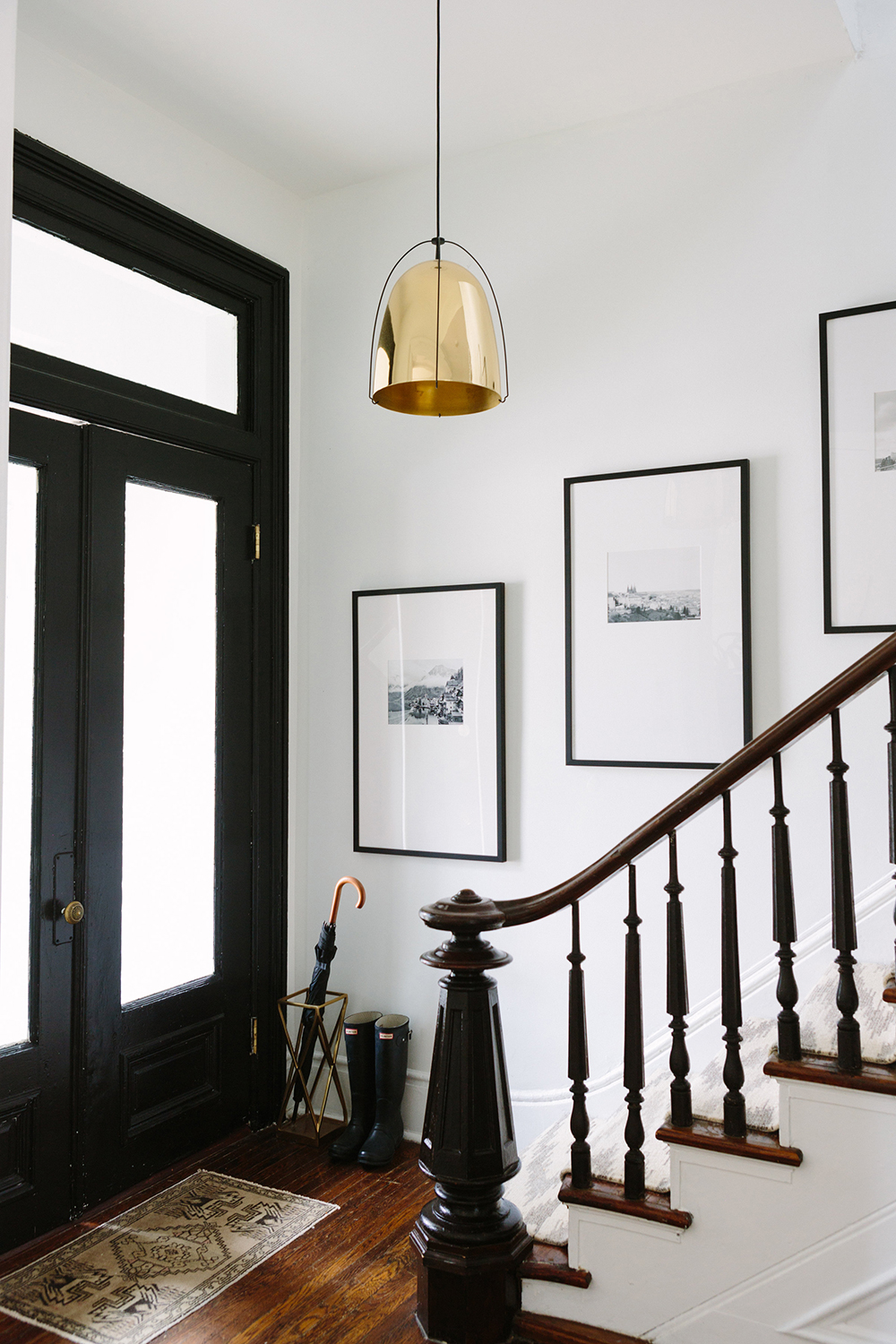French-Inspired entryway
