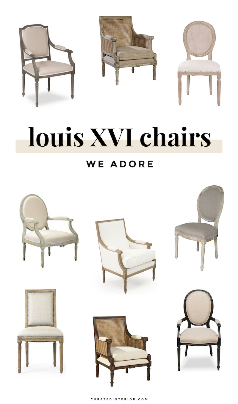 Louis XVI Chairs We Adore