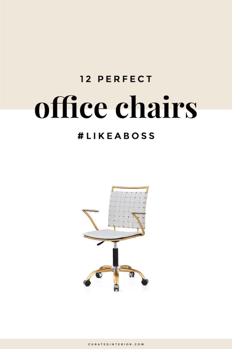 Office Chairs for a Girlboss