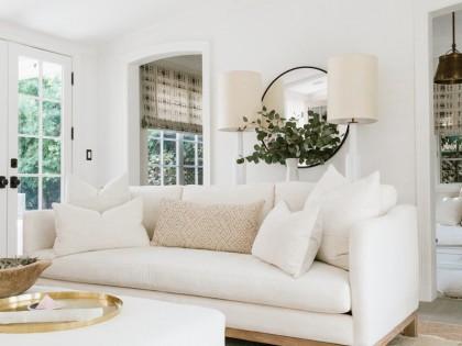 28 Modern Beige Sofas for the Living Room