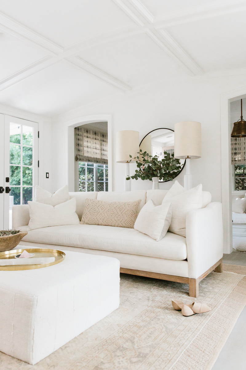 Beige Sofa Erin Fetherston's Los Angeles Home