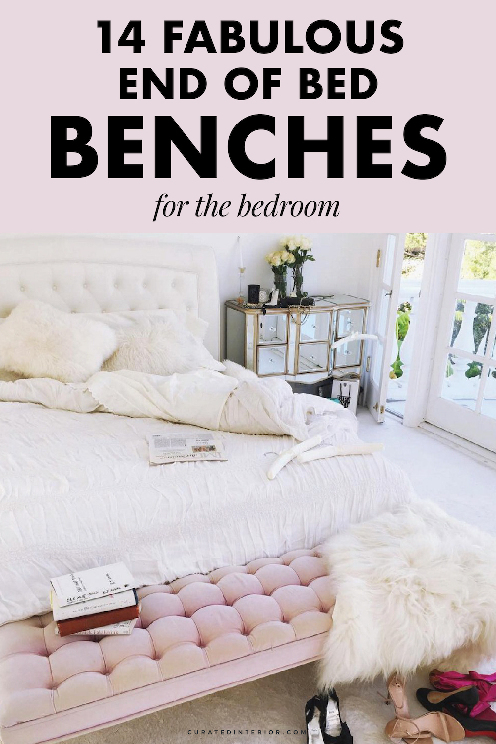End of Bed Benches, Bedroom Benches, Tufted Benches, Storage Benches, Benches for the Bedroom, Bedroom Furniture