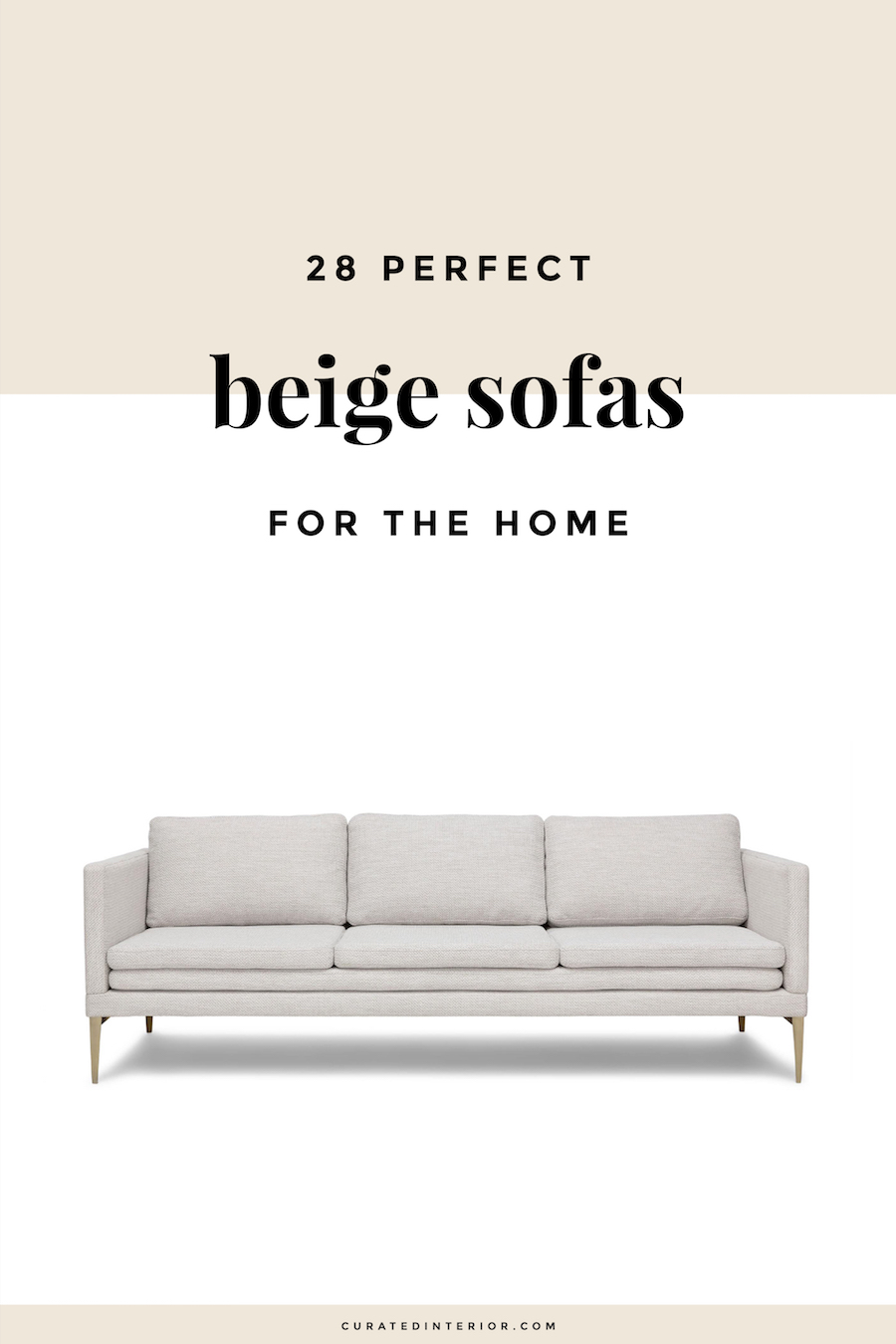 Perfect Beige Sofas for the Home, Sofa by Article