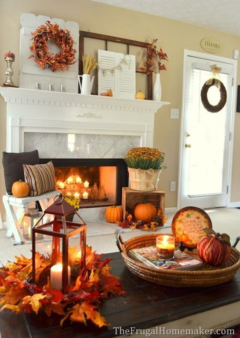 Fall Home Decor Living Room