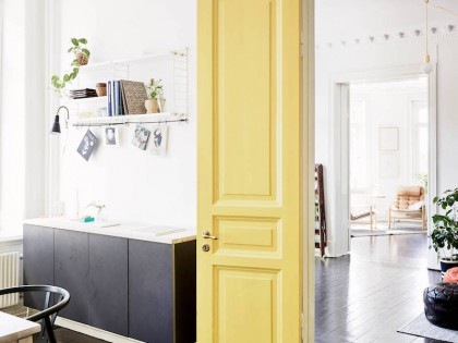 12 Ideas for Colorful Interior Doors