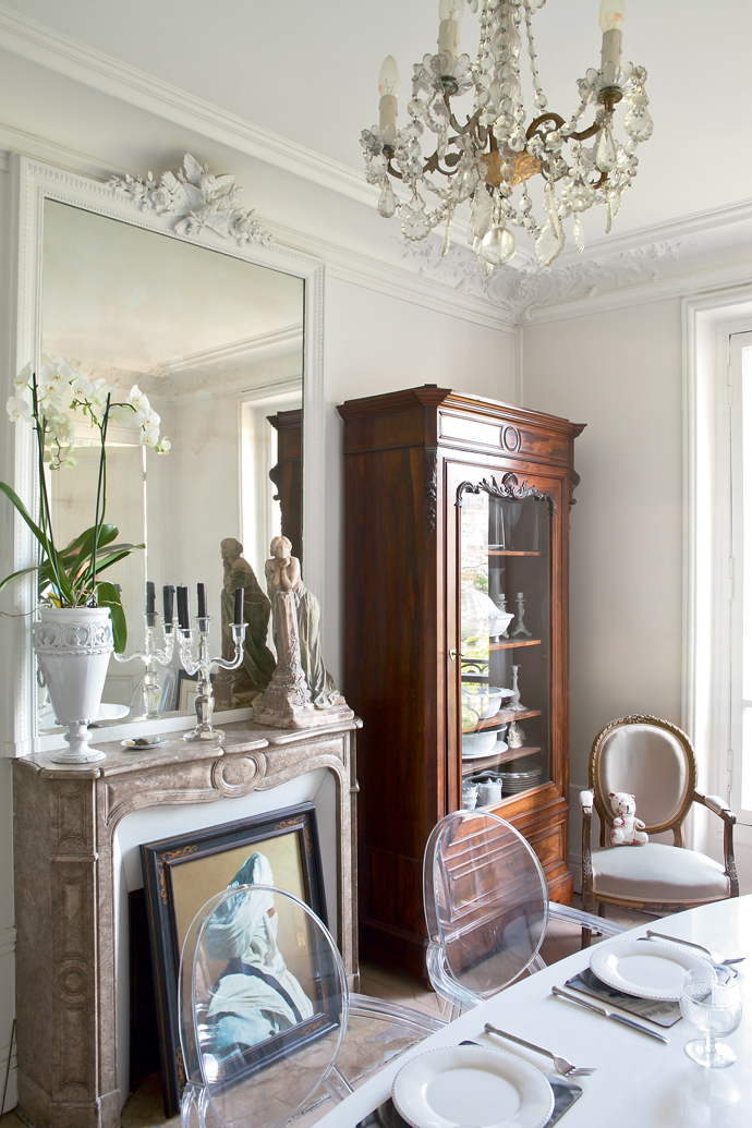 French Interiors A Vintage Elegant Parisian Apartment