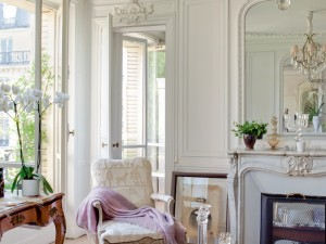 {french interiors} A Vintage Elegant Parisian Apartment