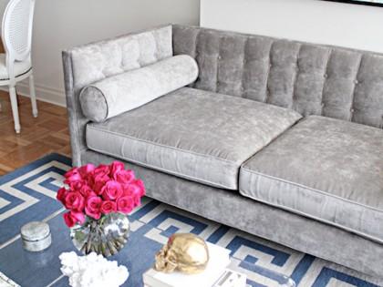 12 Grey Velvet Sofas for the Living Room You'll Love!