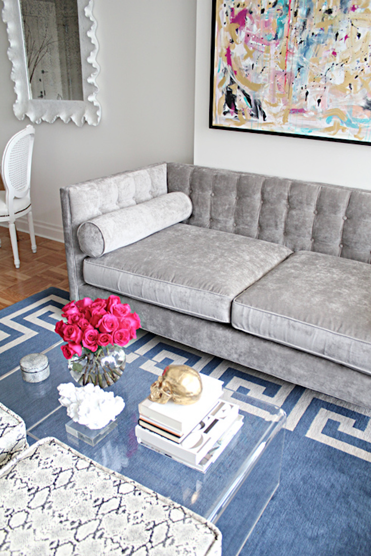 12 Gray Velvet Sofas for the Living Room You'll Love!