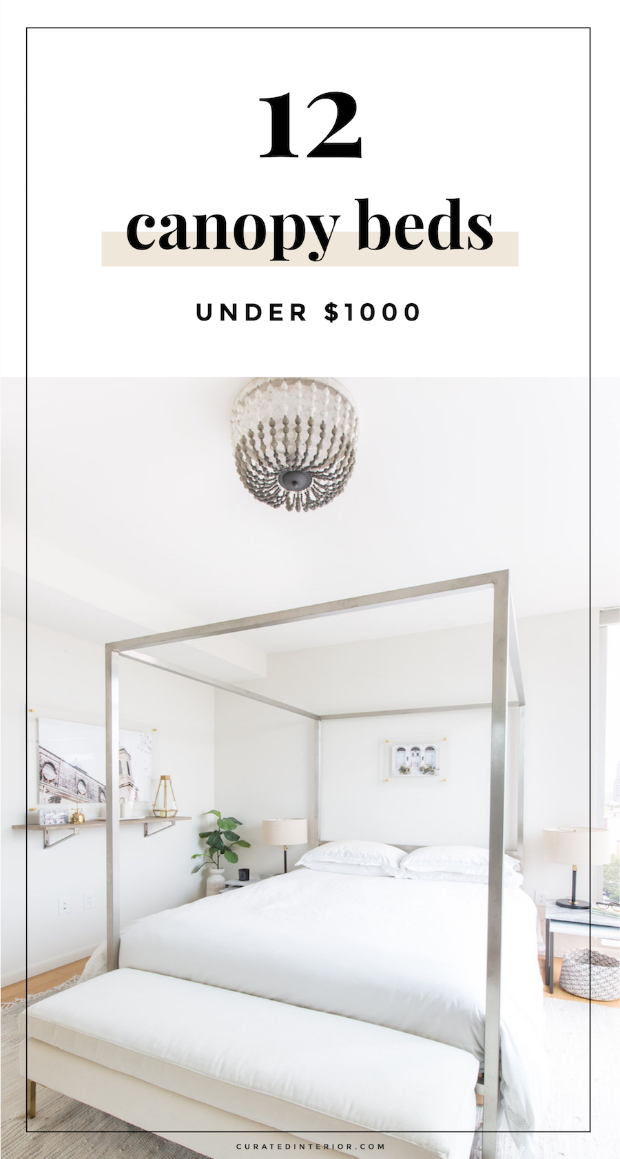 Affordable Canopy Beds Under $1000