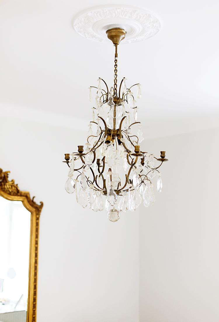 Alexa Dagmar Crystal vintage chandelier
