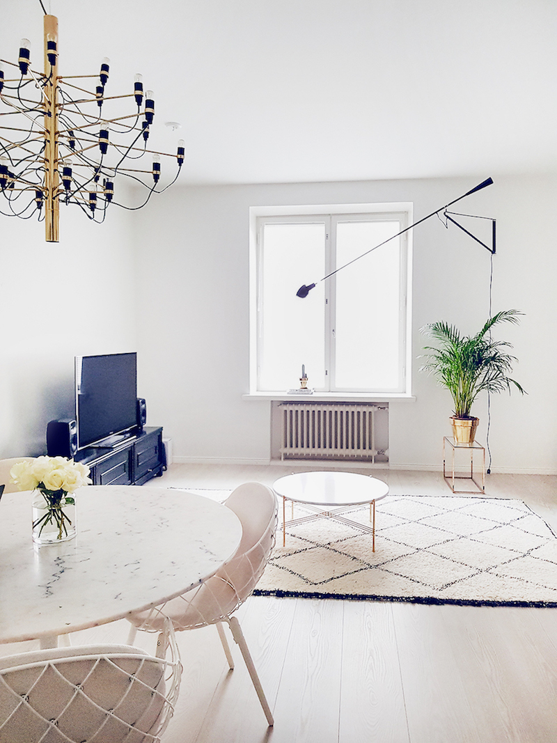Alexa Dagmar Dining and TV room Scandinavian decor