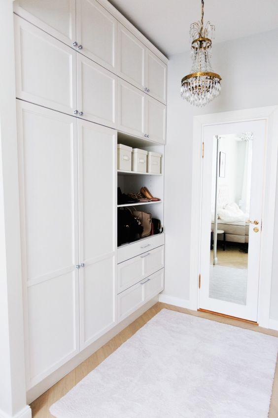Alexa Dagmar Walk in Closet with Crystal chandelier