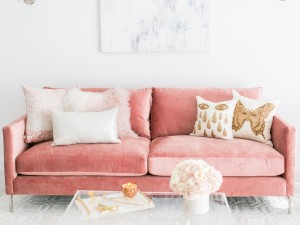 Sydne Summer's Gorgeous West Hollywood Home in Blush & White
