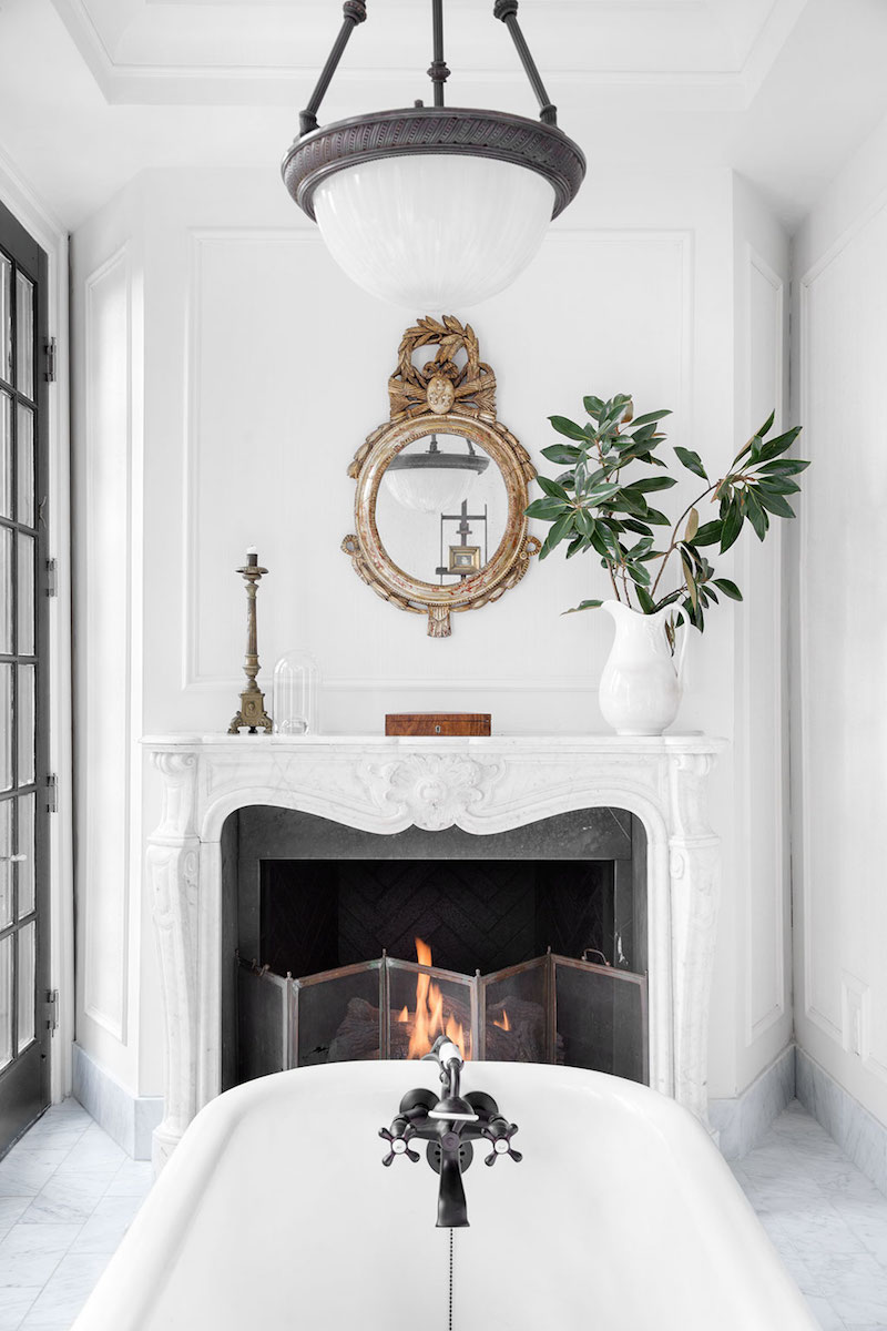 Step Inside Designer Darryl Carter's Early 20th Century Bathroom