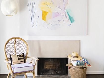 Inside Artist Sally King Benedict's Bohemian Dream Home in Atlanta