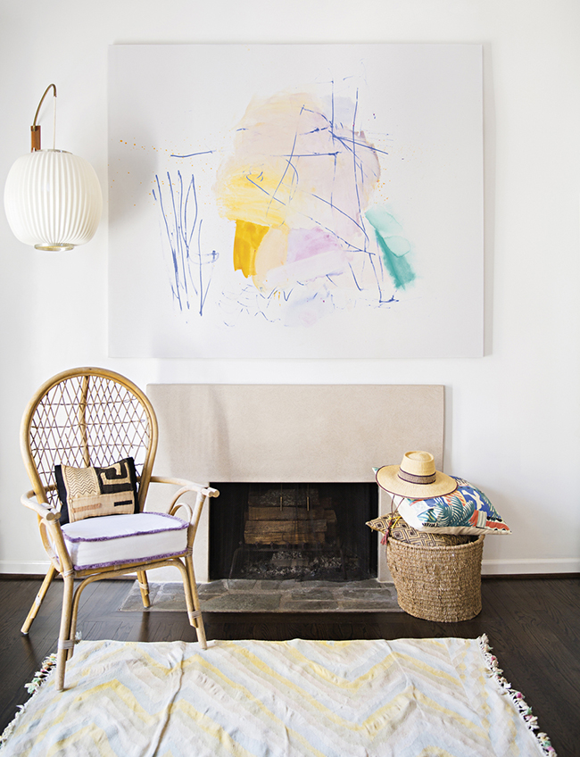 Inside Artist Sally King Benedict's Bohemian Dream Home in Atlanta