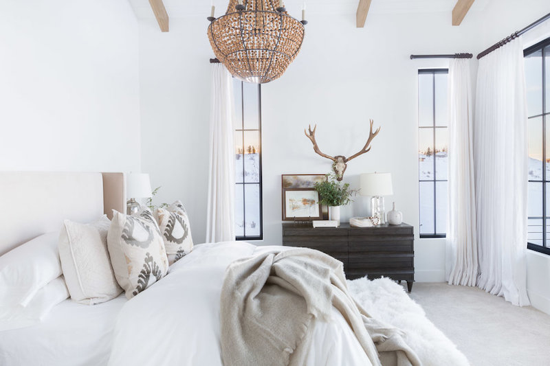 Montana bedroom design by Nicole Davis