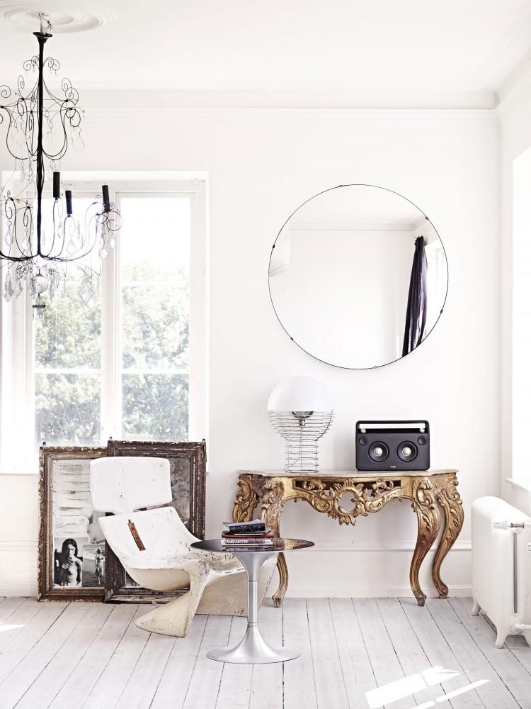 Scandinavian living room via Marie Olsson Nylander