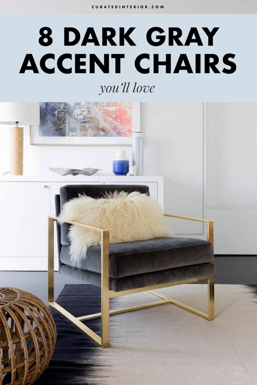Dark Gray Accent Chairs, Dark Grey Accent Chairs