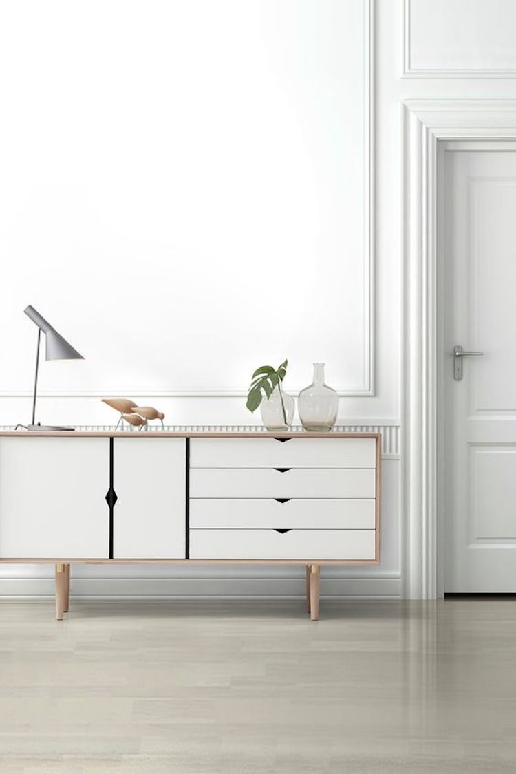 White sideboard S6 Sideboard by byKATO for Andersen Furniture