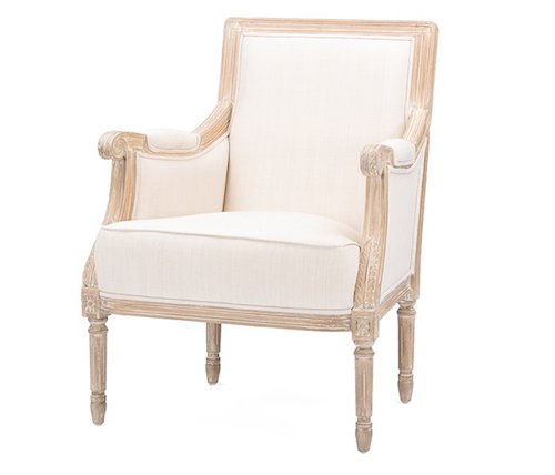 French Country Accent Chair - Westrick Armchair