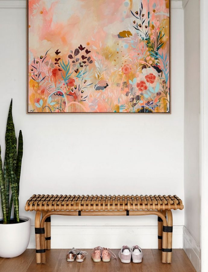 14 Chic & Affordable Entryway Benches