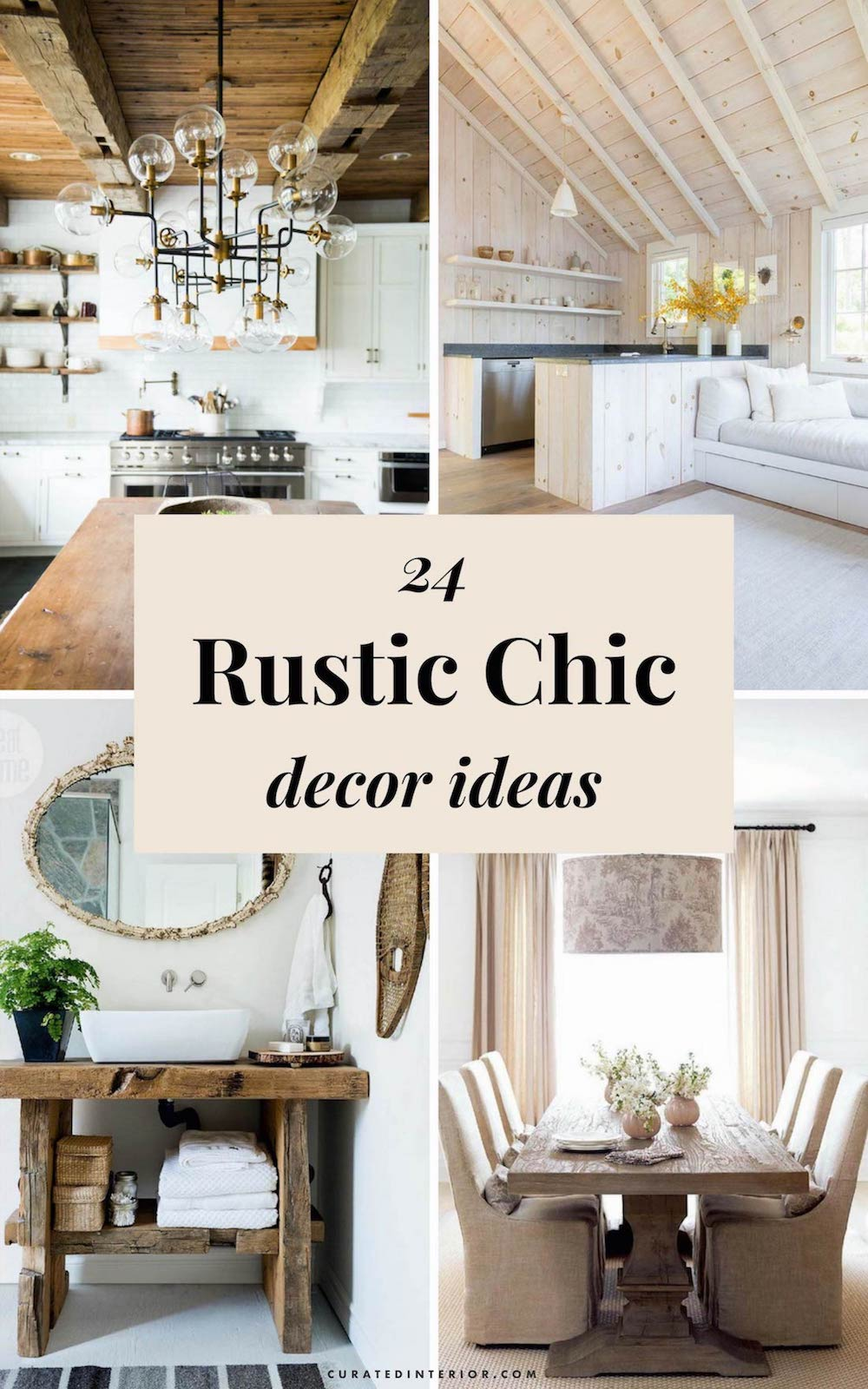 24 Rustic Home Decor Ideas Inspiration