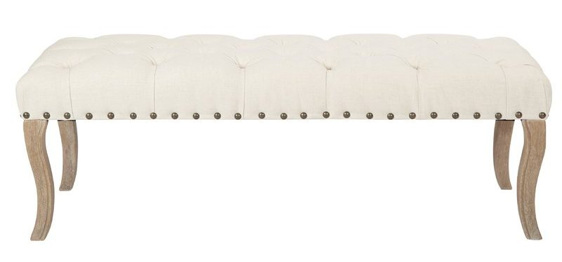 Feminine Tufted Entryway Bench