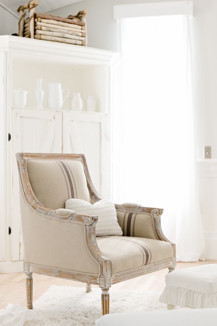 3 Charming French Country Accent Chairs