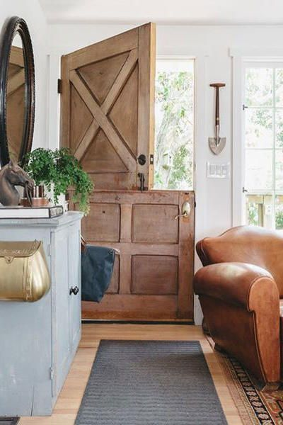 Rustic Wooden Dutch Door
