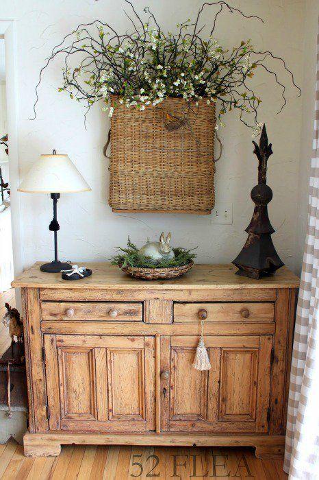 Rustic Wooden Sideboard