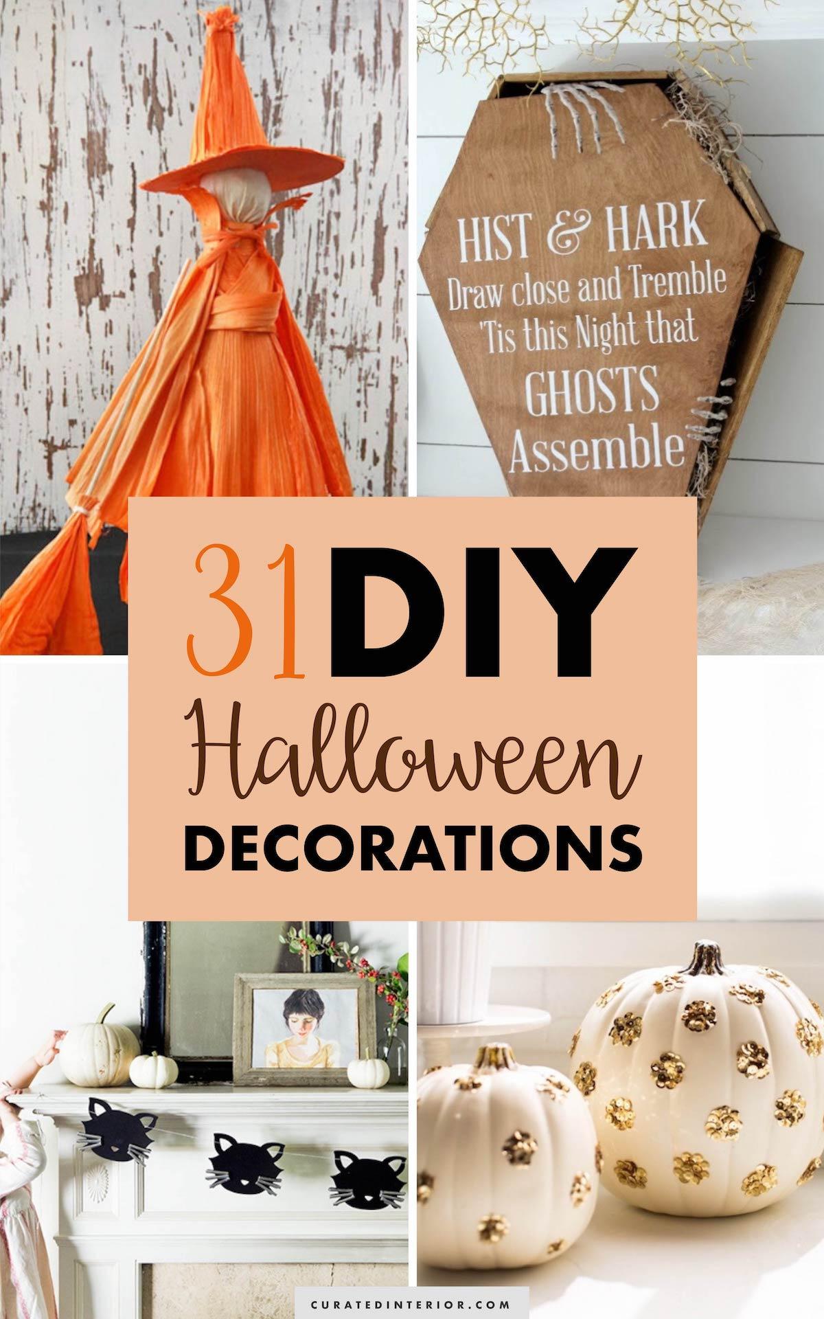 31 Halloween DIY Decorations
