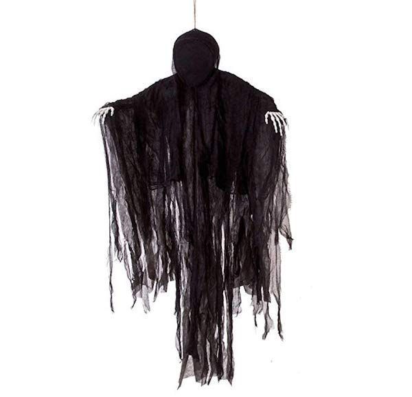 Affordable Halloween Decor - 5 Ft Dark Hanging Grim Reaper