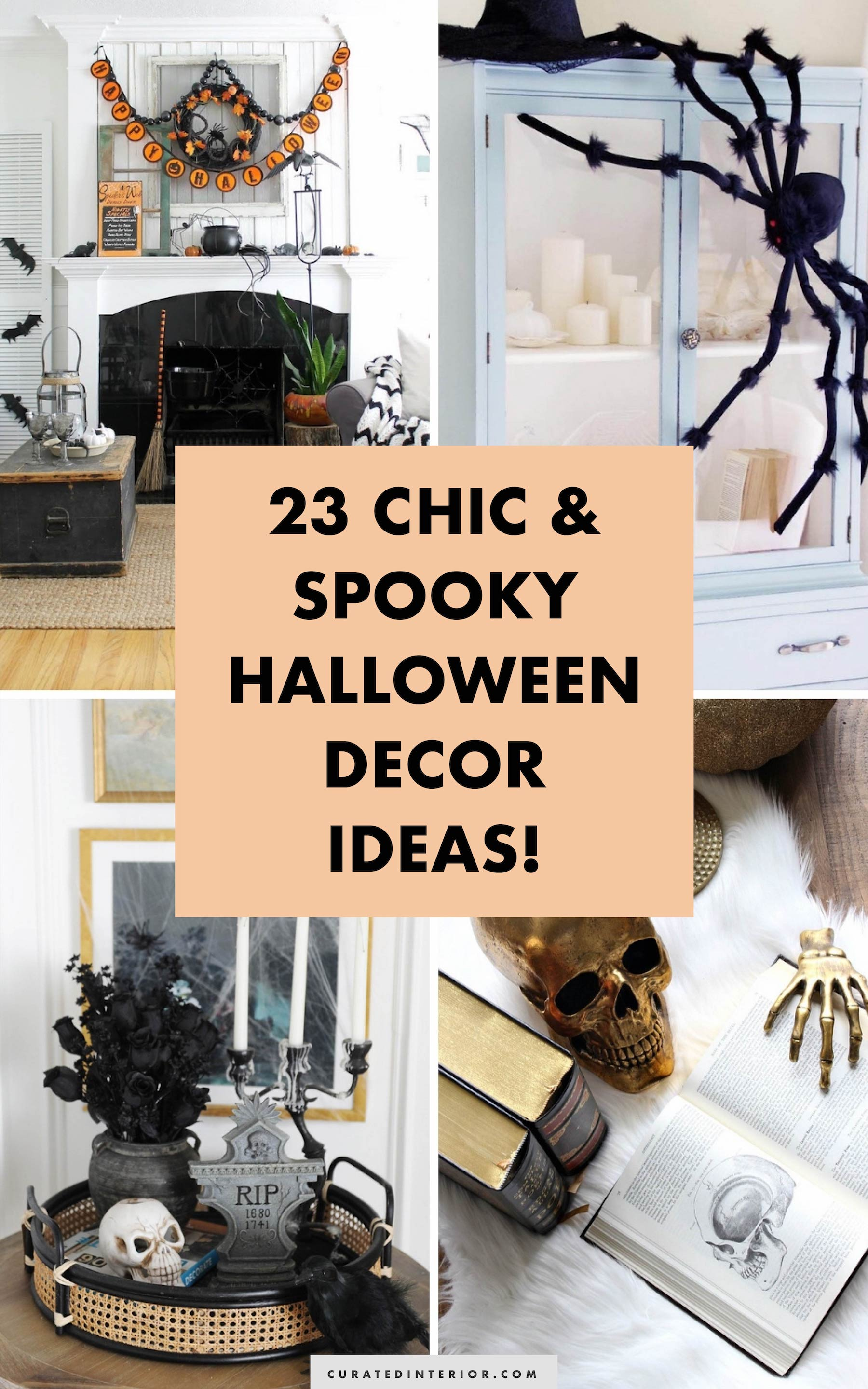 Chic But Spooky Halloween Decor Ideas To Inspire You