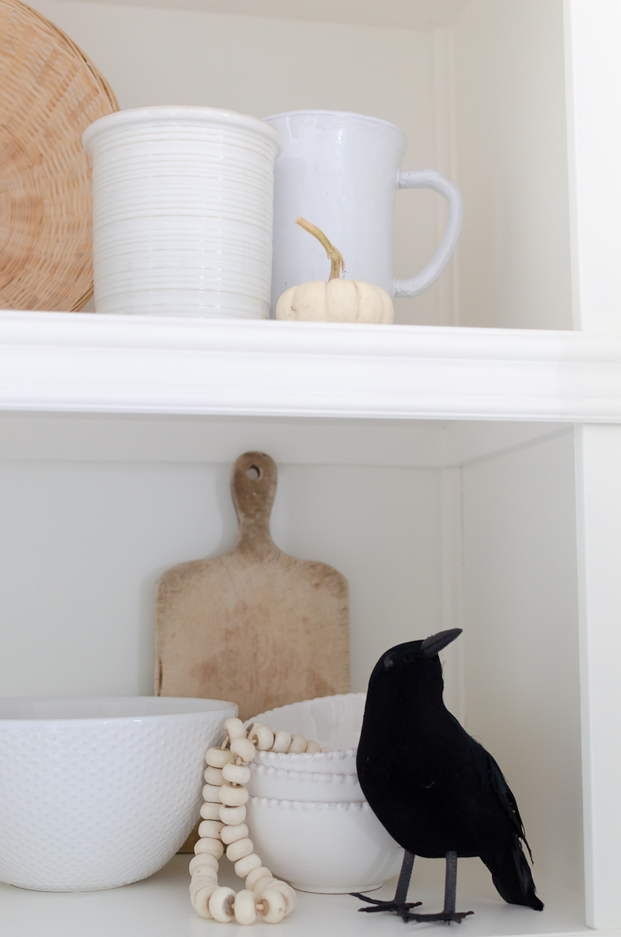 Halloween Decor Ideas Kitchen Shelving
