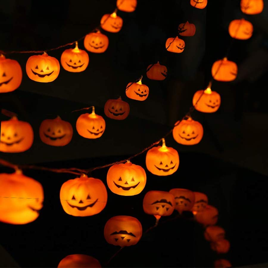 Affordable Halloween Decor - Halloween String Lights