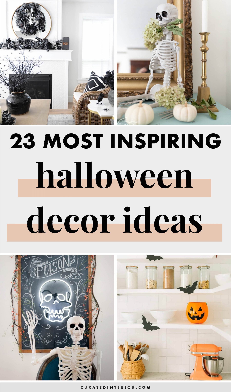 Most Inspring Halloween Decor Ideas