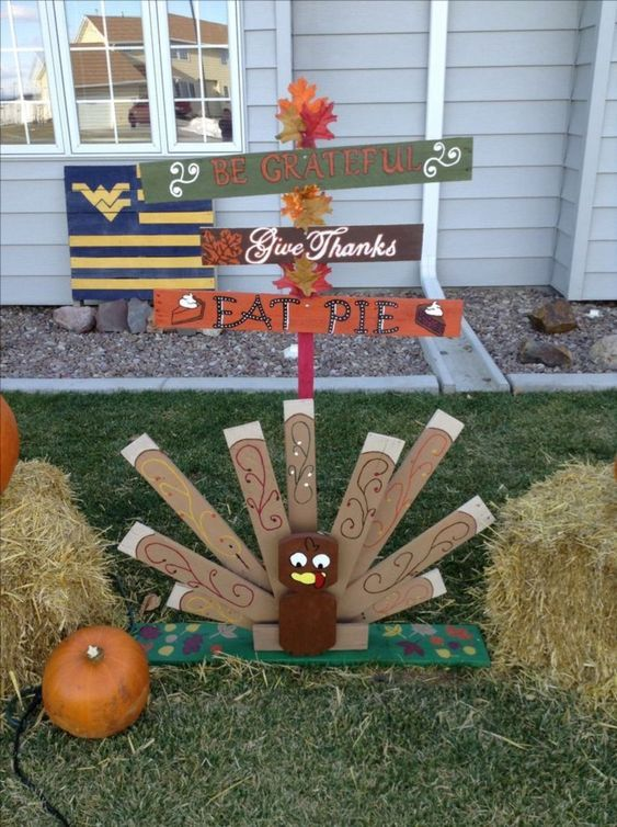 Thanksgiving DIY pallet project
