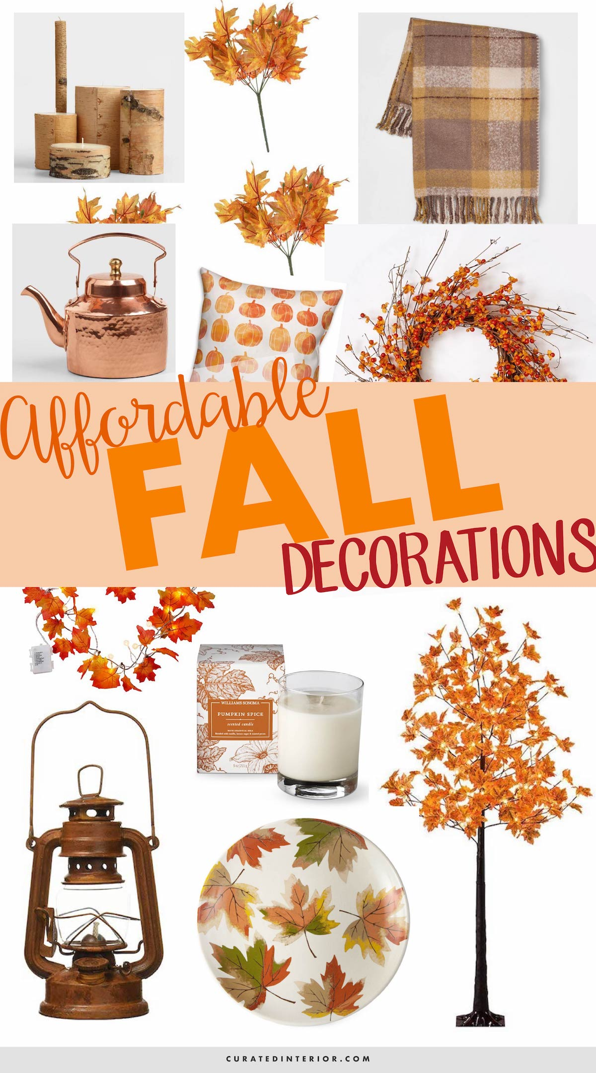 15 Affordable Fall Decorations For Autumn 2018