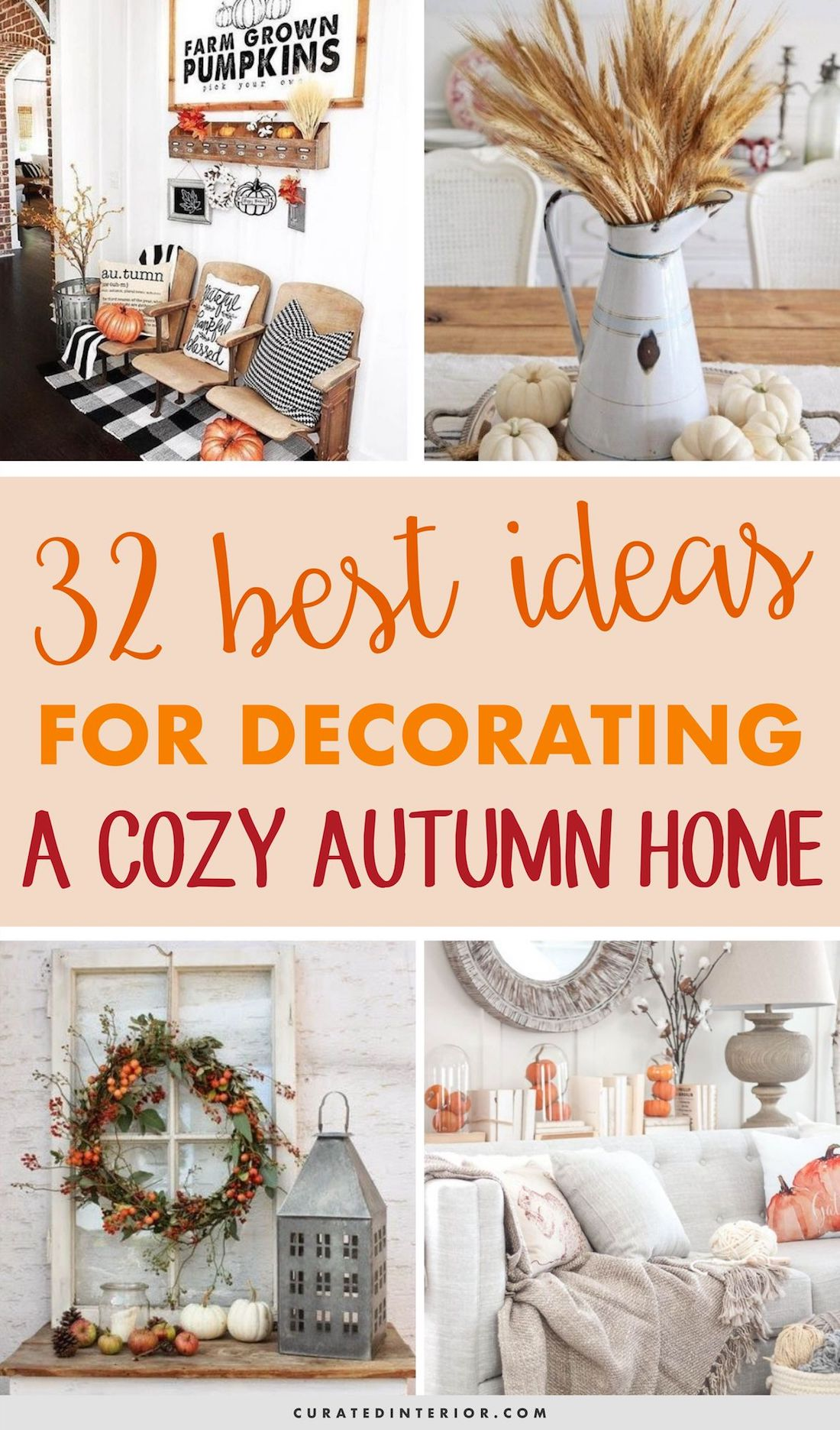 32 BEST Ideas For Decorating A Cozy Autumn Home #FallDecor #FallHomeDecor #FallDecorIdeas #FallHome